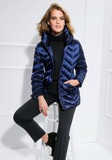 Пуховая стеганная куртка Basler