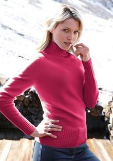 Пуловер с воротником Basler