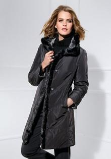 Стеганное пальто Basler